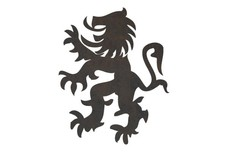 Family Crest Lion DXF File