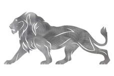 Male Lion DXF File