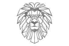 Geometric Lion_Head DXF File