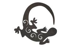 Swirl Lizard DXF File