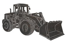 Front Loader DXF File