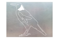 Magpie Bird DXF File