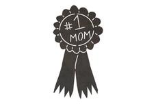 Best Mom Ribbon DXF File