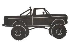 Monster Truck Side-Profile DXF File