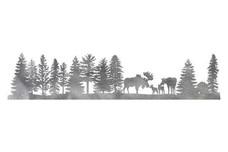 Moose Family Driveway Topper