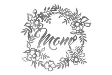 Mothers Wreath Wall Art