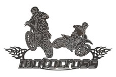 Motocross Sign