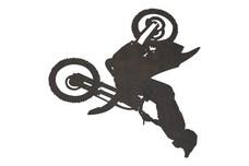 Motorcross Rider DXF File
