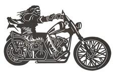 Cool Biker DXF File