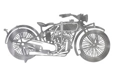 1926 Indian Scout Motorcycle DXF File