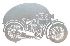 Vintage Motorcycle DXF File