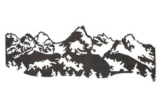 Mountain DXF File