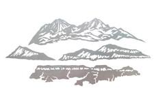 Four Mountains DXF File