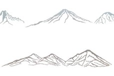 Four Mountains DXF File