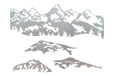 Four_Mountain_Scenes DXF File