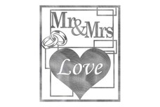 Mr & Mrs Frame Wall Art