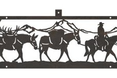 Mule Train Shelf