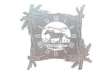 Mustang Clock