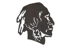 Native American Male DXF File