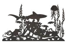 Ocean Animals DXF File