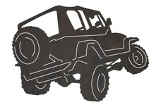 Driving Off-Road Jeep DXF File