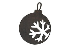 Christmas Ornament DXF File