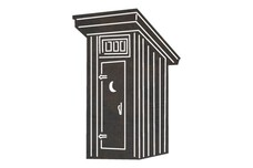 Wooden Outhouse DXF File