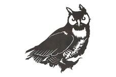 Long-eared Owl DXF File