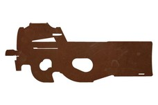 P90 Firearm DXF File