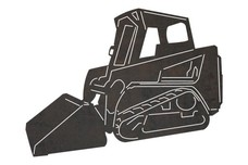 Pay Loader Truck Side-view DXF File