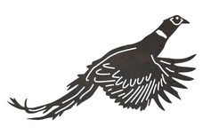 Spread-Wing Pheasant DXF File