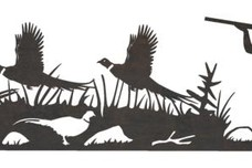Pheasants Driveway Topper