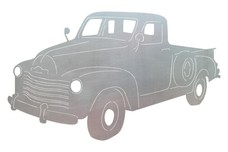 Classic Pickup_Truck DXF File