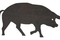Walking Pig DXF File