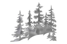 Pine Tree Range DXF File