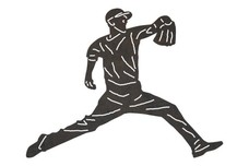 Pitcher Throw DXF File
