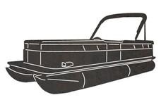 Pontoon Boat DXF File