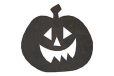 Smiling Jack-o'-Lantern DXF File