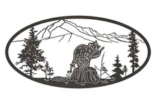 Raccoon Oval Insert