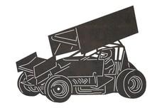 Unique Race Kart DXF File
