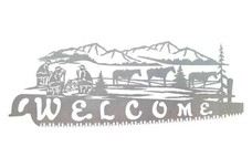 Ranch Welcome Sign