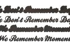 Remember Stock Art