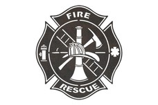 Rescue Badge DXF File