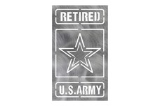 Retired Army Stock Art