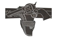 Vintage Revolver DXF File