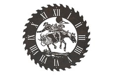 Rodeo Sawblade Clock