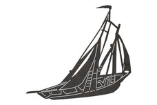 Sailboat DXF File
