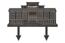 Saloon Yard Stake
