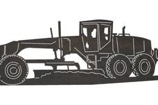 Tractor Scraper DXF File