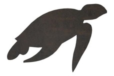 Sea Turtle Side-View DXF File